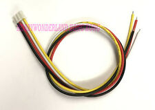 15pcs JST 2.0mm PH 4-Pin Female Housing Connector color wire lead 22AWG 300mm