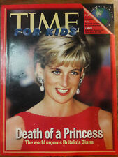 1997 TIME FOR KIDS DEATH OF A PRINCESS ON COVER DI DIANA 00084