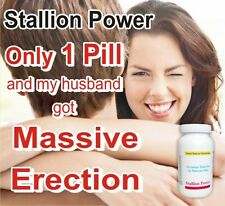 STALLION POWER Testosterone Booster Ayurvedic 180 Cap Pack. Free Shipping