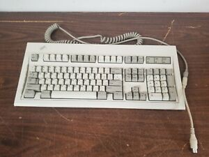 Vintage 1989 IBM Model M Clicky Keyboard 1393464 PS/2 Serial Connector