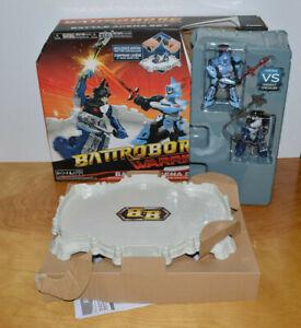 BATTROBORG WARRIOR BATTLING ROBOTS ARENA SET TOMY BATTLE BOTS