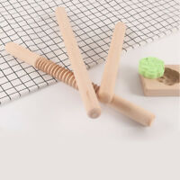 Natural Wood Wooden Rolling Pin Large and Small Pastry Chapati Cooking Baking