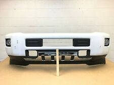 2015-2019 chevy silverado 2500-3500 front bumper with 4 sensors (need paint) #9