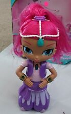 Fisher-Price Nickelodeon Shimmer & Shine,Wish & Spin Shimmer Doll -Motor Issue