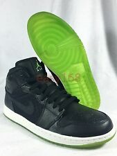 New Nike Air Jordan 1 Phat Sz 10.5  Mens 44.5 Infrared Black XI DMP Yeezy Green