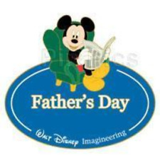 Disney Pin 68903 WDI Name Tag Mickey Mouse Father's Day Cast Member LE 300 *