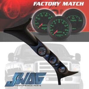 Autometer Ford Factory Matched A-Pillar & Gauge Set For '99-07 6.0L & 7.3L #7077