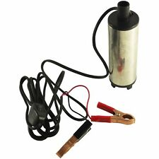 DC 12V Aluminium Alloy Electric Submersible Diesel Transfer Pump Oil Fuel Water