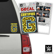 "WWE Authentic Enzo & Big Cass ""Certified G"" Automotive Decal Weather Resistant"