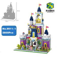 Bausteine königlich Schloss Garten Gebäude Modell Bausätze Geschenk DIY 2800PCS