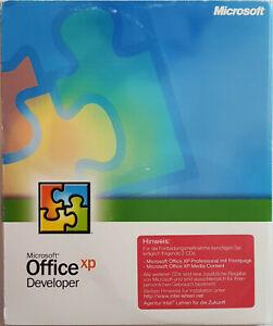 Microsoft Office XP Developer, Deutsch