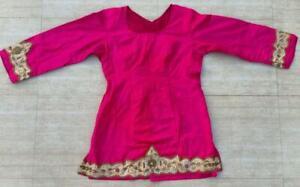 BANJARA BOHO ETHNIC RABARI TRIBAL KUCHI BELLY DANCE INDIAN CHOLI TOP ATS