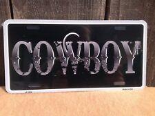 Cowboy Wholesale Novelty License Plate Bar Wall Decor