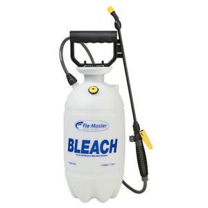 Bleach Chemical Sprayer 1.5 Gallon Hand Pump Lightweight Cleaning Garden Nozzle