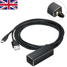 Ethernet Adaptor Power Cable For Fire Tv And Fire Tv Stick Micro Usb To RJ45 Lan