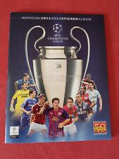 Panini Champions League cl 2011/2012 completamente album cromos cl 11/12