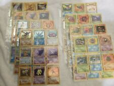Complete 1st Edition Fossil set M/NM Pokemon