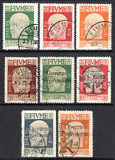 Used Multiple Italian Stamps