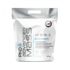 PHD Advanced Mass Gainer 2.27kg Hard Muscle Weight Gain Protein - Strawberry