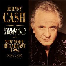 JOHNNY CASH New Sealed 2019 UNRELEASED NEW YORK 1996 LIVE CONCERT CD