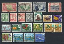SOUTHERN RHODESIA Mixed Assortment - including some earlier issues
