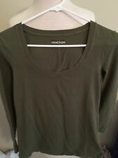 (R9) Women's Kenneth Cole Reaction X Small Long Sleeve Shirt
