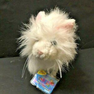 Webkinz Persian Cat HM110 White Kitten Plush Stuffed Sealed Code