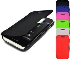 Schutzhülle f. Samsung Galaxy Ace S5830 Leder-Imitat Tasche Flip Case Etui Cover