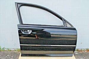 2004 - 2010 Audi A8 Front Right Passenger Side Door Shell Black OEM