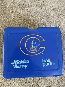 VTG Columbus Clippers Promo Lunch Box Minor League Baseball Promo Giveaway