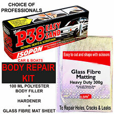 FIBRE GLASS, CAR BODY FILLER, HARDENER KIT (CAR BODY REPAIR KIT) GLASS FIBRE