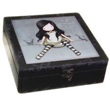 Cajas, tarros y latas decorativos joyeros de madera para el hogar