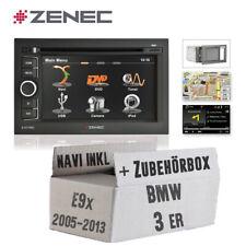 Zenec KFZ Autoradio für BMW 3er E9x 2005-2013 Naviceiver mit Bluetooth / USB