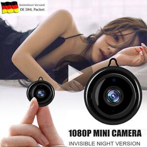 Mini WIFI IP Kamera WLAN Webcam 1080P Überwachungskamera Nachtsicht HD Camera