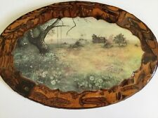 Jenkins Art Wooden Framed Picture Wall Hanging 18x12 Vintage Wood