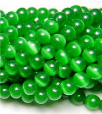 """8mm Green Mexican Opal Gemstone Round Loose Beads 15"""""""