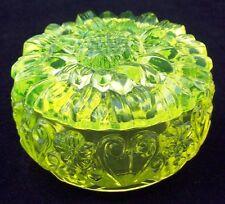 """Dose, geformt, in """"Annagelbglas"""". Motiv Blume AE-290"""