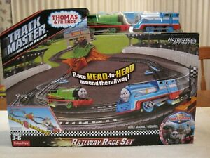 THOMAS & FRIENDS TRACK MASTER MOTORIZED RAILWAY-RAILWAY RACE SET--NEW--UNOPENED