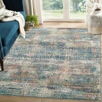 Omaha Distressed Abstract Colourful Modern Floor Rug - 5 Sizes **FREE DELIVERY**