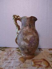RARE Art Nouveau T Teplitz Jugendstil Amphora RSTK Wine Jug Grapes/Dragon Handle