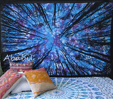 Twin Dry Tree Tapestry Indian Wall Hanging Tie Dye Tapestry Hippie Mandala Throw