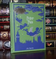 Peter Pan by J. M. Barrie Illustrated New Sealed Leather Bound Collectible
