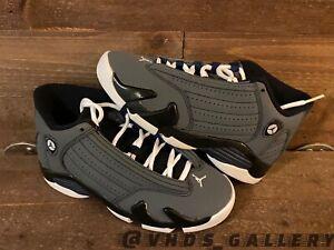 Nike Air Jordan Retro 14 XIV GS Graphite Navy Grey Sz 4y New