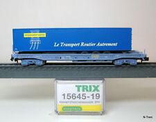 """Minitrix N 15645-19 - Vagone Sdgmss delle SNCF, semirimorchio """"Novatrans"""""""