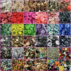 CLEARANCE! LARGE SELECTION OF ITALIAN MIXED/BABY/SQUARE BUTTONS/BEADS! Sewing