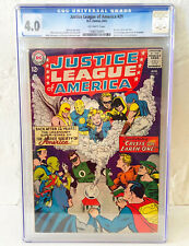 Justice League Of America #21 CGC 4.0 First Silver Age Justice Society 1963