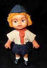 Vintage USSR Soviet Period Toy LITTLE GIRL-PIONEER