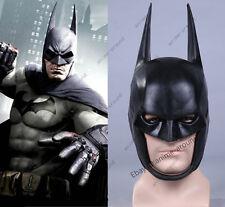 DC Batman Arkham Origi Mask Helmet Latex 1:1 Cosplay Costume Prop Halloween New