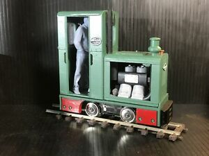 GN15 - Deutz OMZ 117 critter - NEW - G-scale on 00 track using a tenshodo spud