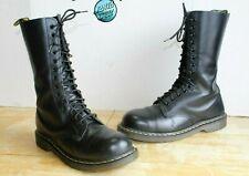 Dr Martens 1940 Men's Combat Boots 14 Eye Black Leather US Size 11 - UK 10